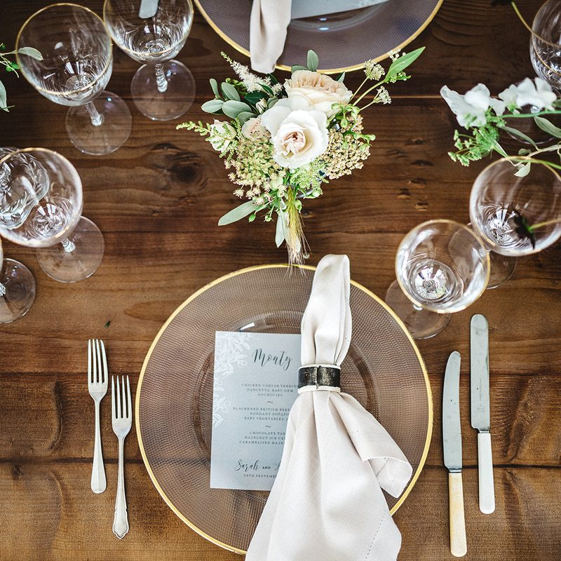 Alrewas Hayes place setting