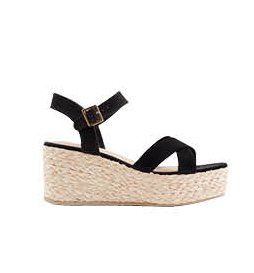 City honeymoon: Black espadrilles, £27.99, New Look