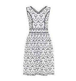 City honeymoon: Broderie sun dress, £70, Long Tall Sally