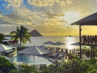 3 of the best Caribbean Weddings Cap Maison Infinity Pool (1)