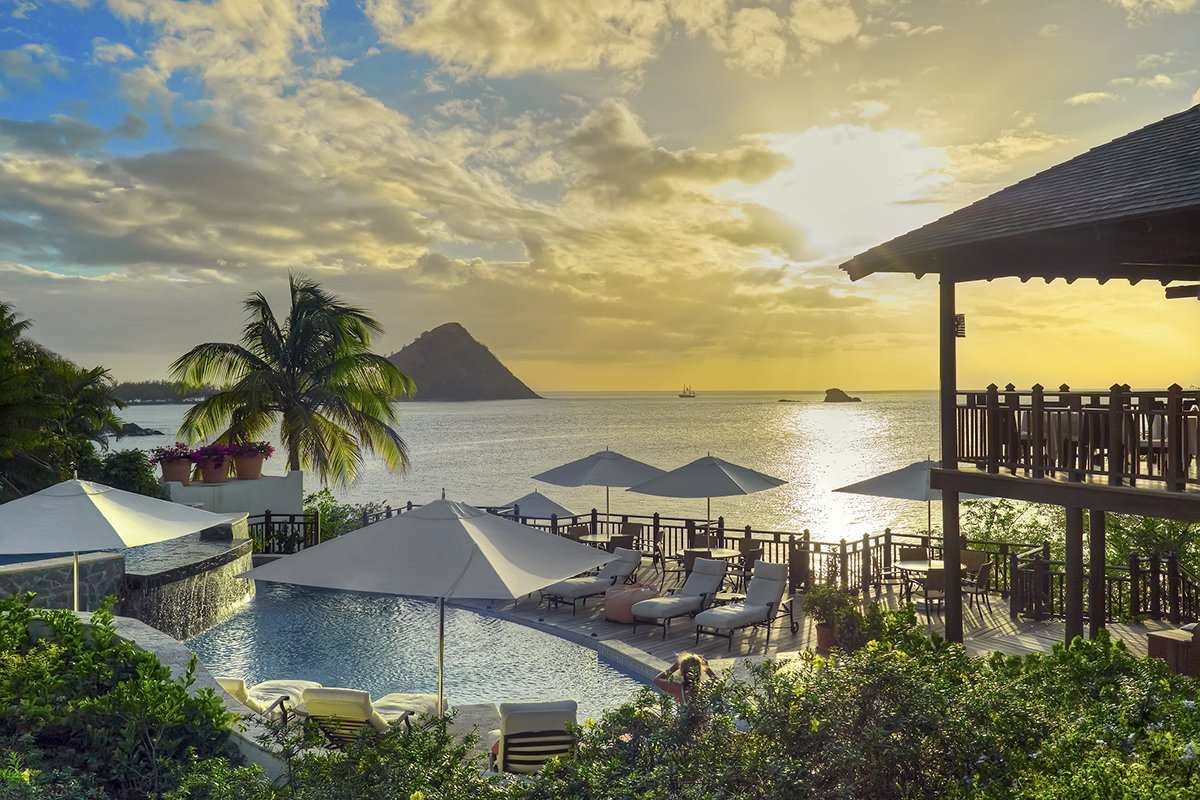 3 of the best Caribbean Weddings Cap Maison Infinity Pool