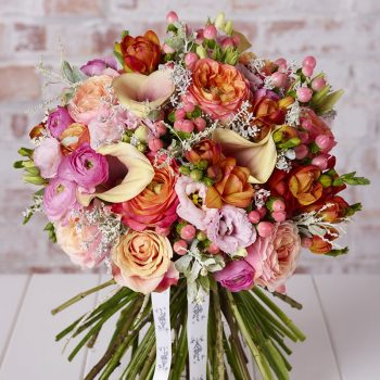 Bright & Beautiful Blooms - wedding flowers - Larry Walsh