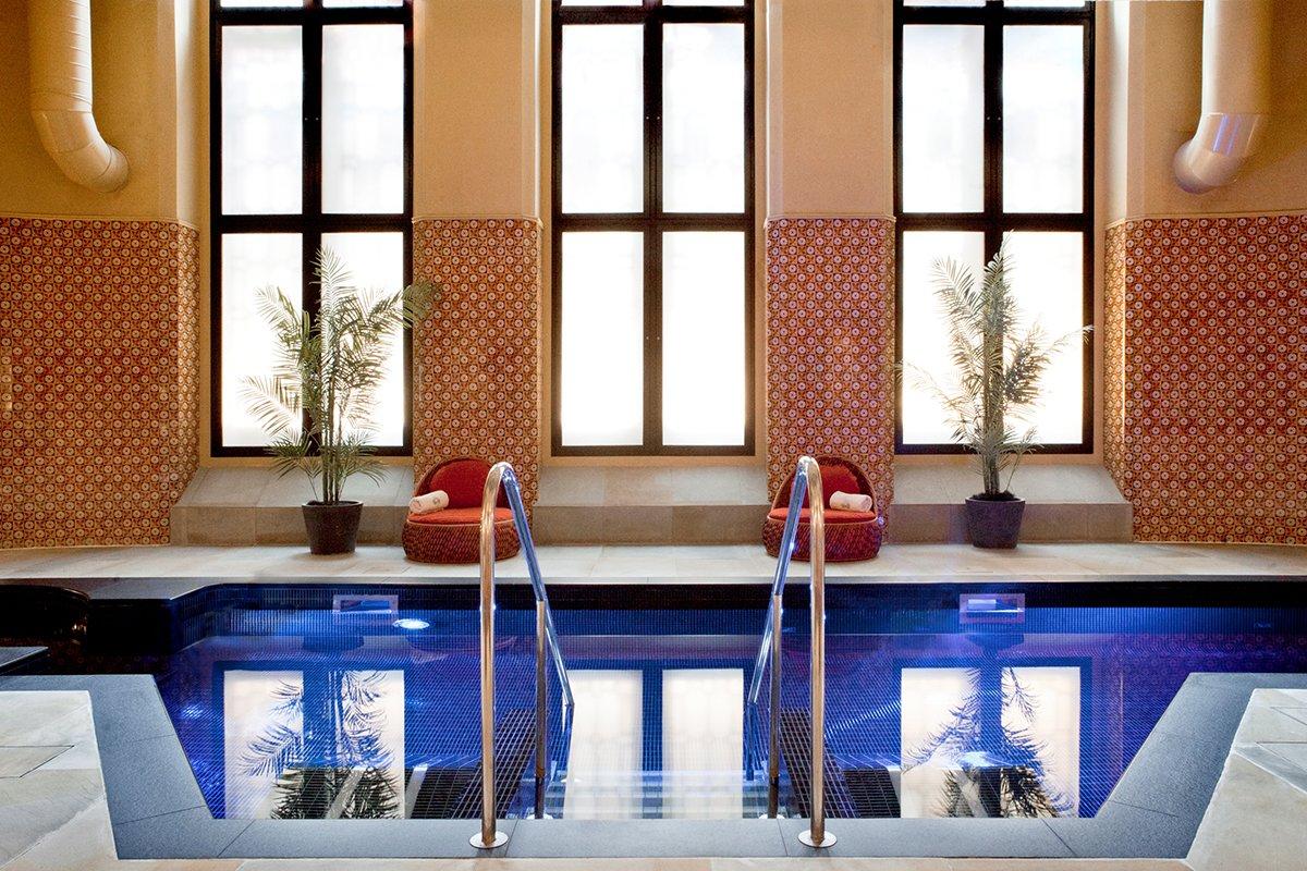 spa St Pancras Renaissance Hotel