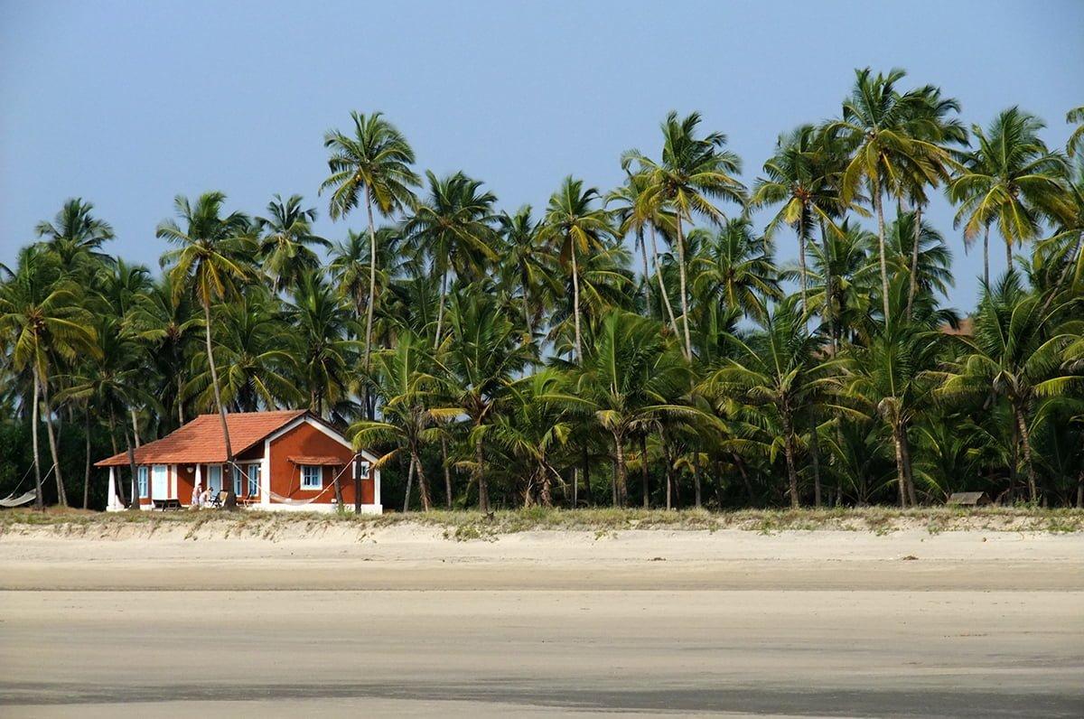 goa beach hut