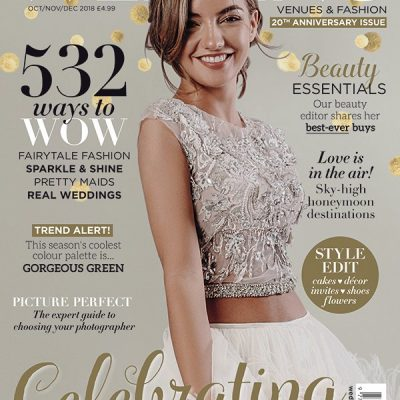 Wedding Venues & Fashion October Magazine Cover