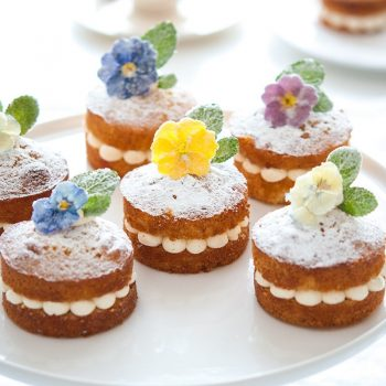 Edible flowers - Sweet Treats