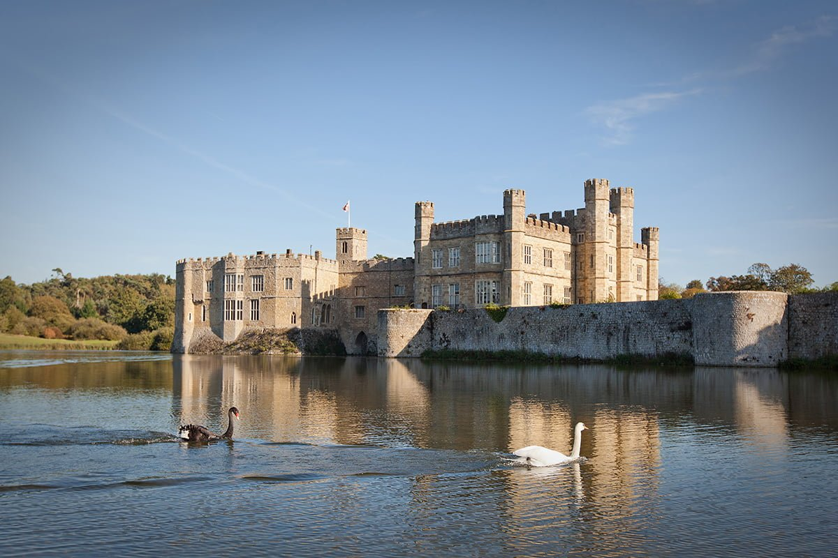 Leeds Castle, Kent - 10 of the Best Waterside Venues