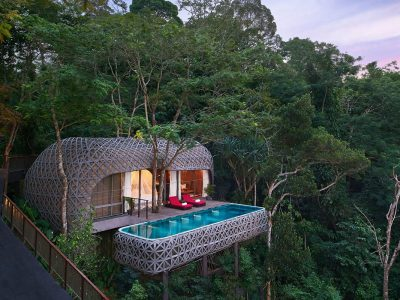 Luxurious treehouses Keemala, Phuket