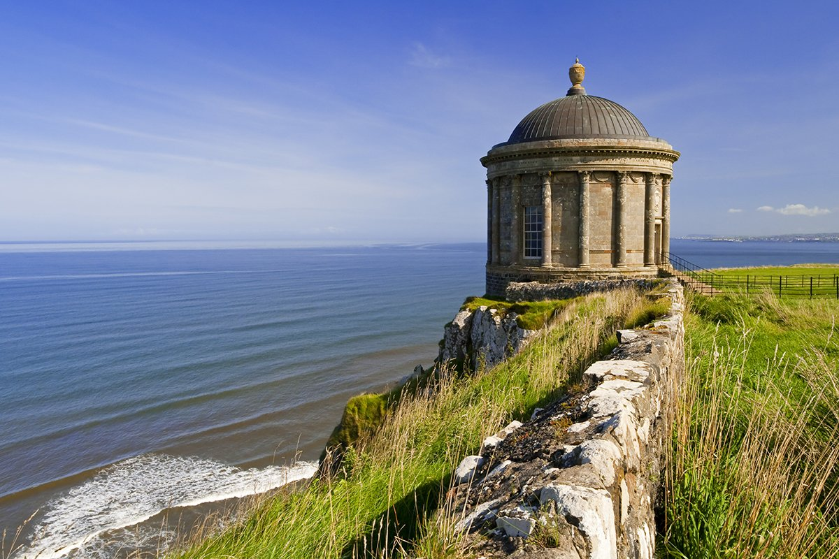 Mussenden Temple, Northern Ireland - 10 of the Best Waterside Venues