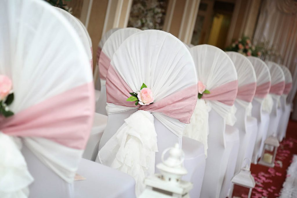 The Beaches Hotel chair covers