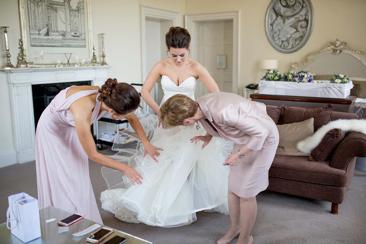 Bailbrook House Hotel bride