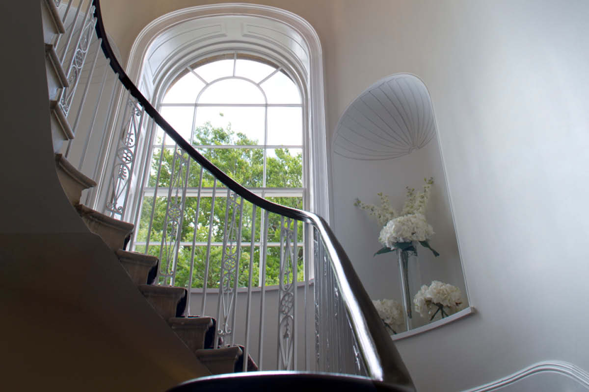 Bailbrook House Hotel staircase
