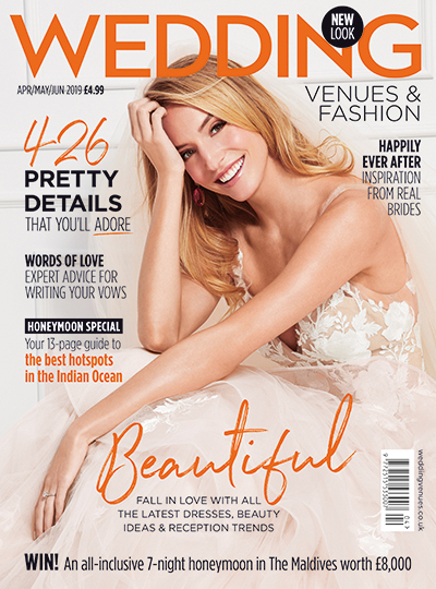 Wedding Venues & Fashion magazine cover