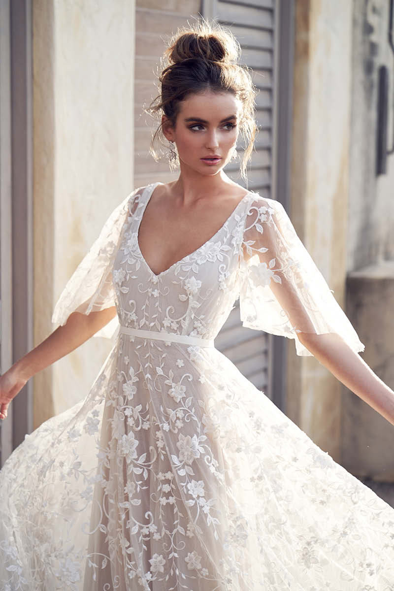 light wedding dresses