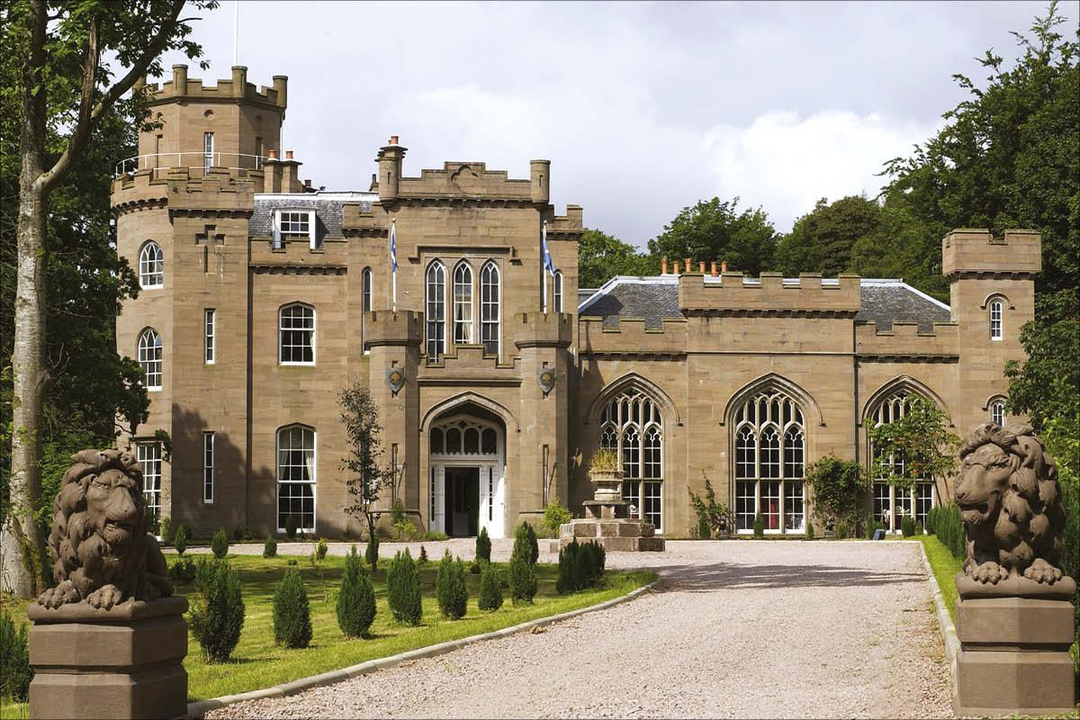 Drumtochty Castle, Near Aberdeen