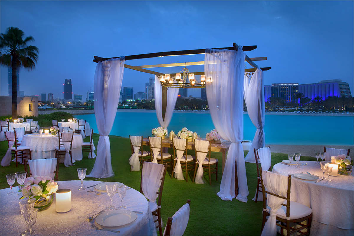 Weddings abroad Ritz Carlton Bahrain