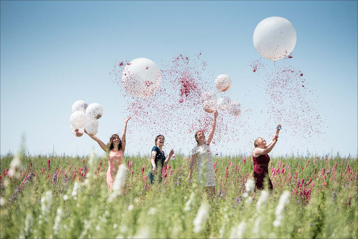 Shropshire Petals Giat Confetti Balloon|Hen Heaven|Rubys Cupcakes|Alive Network - The I Do Files