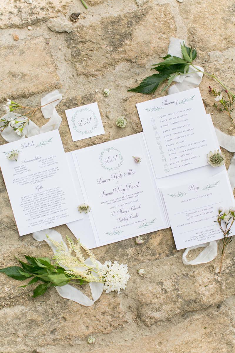 Sudeley real wedding - castle of dreams