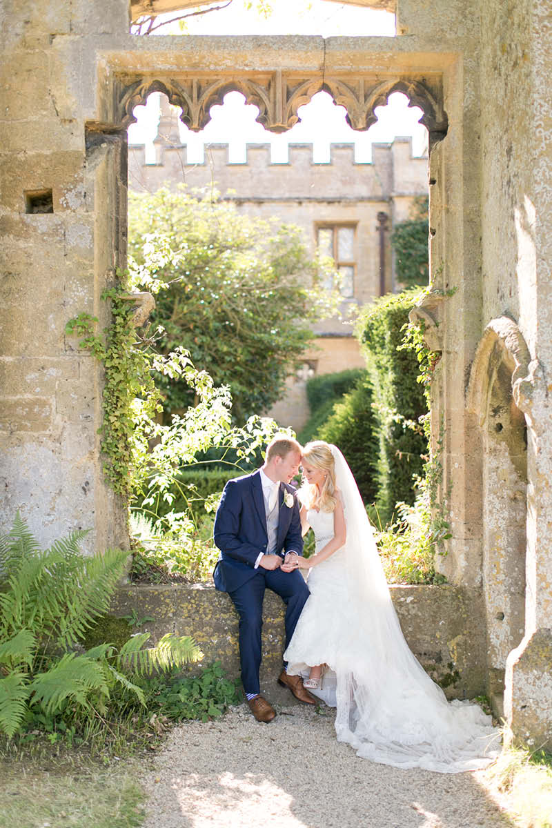 Sudeley real wedding - castle of dreams