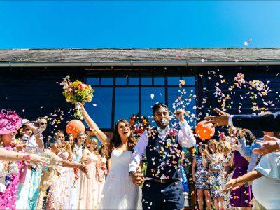 Upwaltham Barns West Sussex Raye and Robin wedding