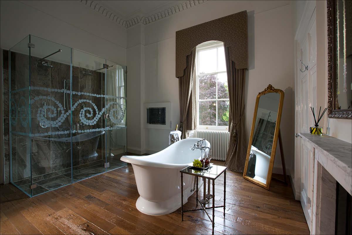 Bailbrook House Hotel bathtub