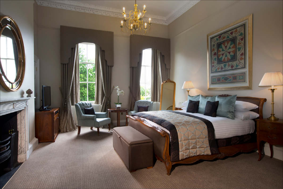 Bailbrook House Hotel bedroom