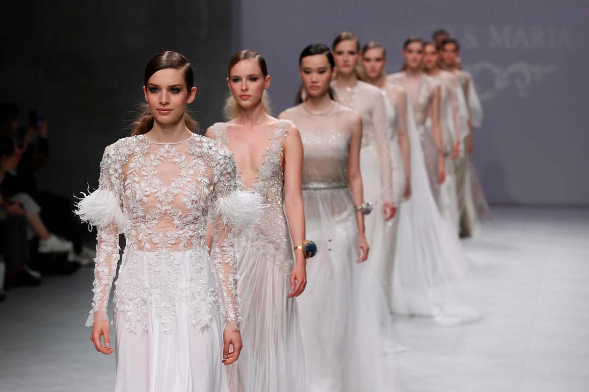 Bridal catwalks Marco & Maria at Valmont Barcelona Bridal Fashion Week