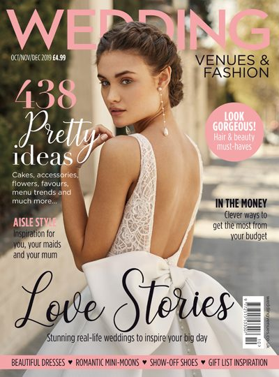 Wedding Venues & Fashion - Oct/Nov/Dec 2019 issue cover
