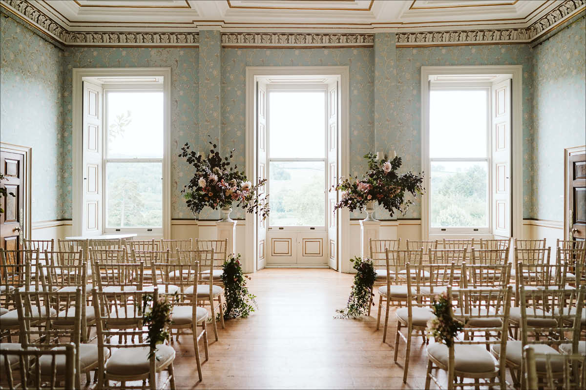 10 stately home wedding venues Pynes House