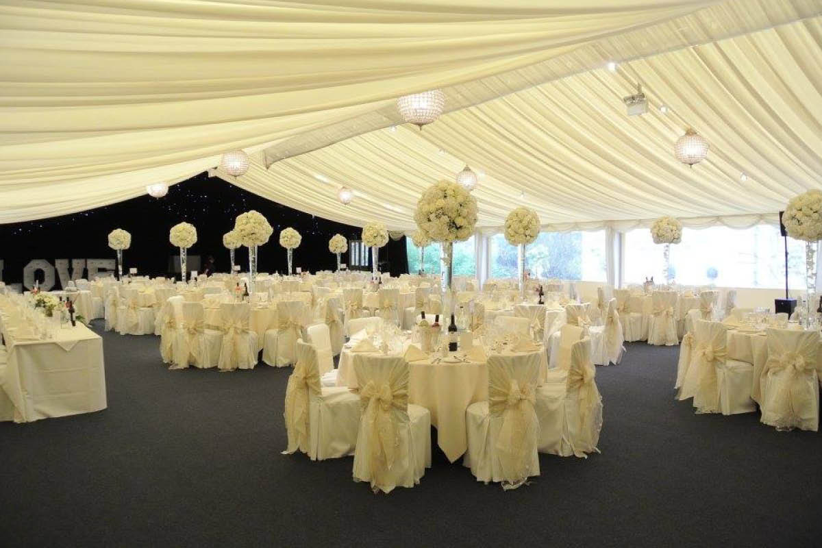 Dunchurch Park Hotel marquee