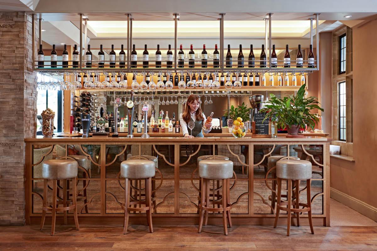 Bovey Castle Devon bar