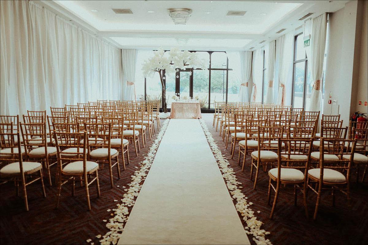 Rookery Hall Hotel ceremony
