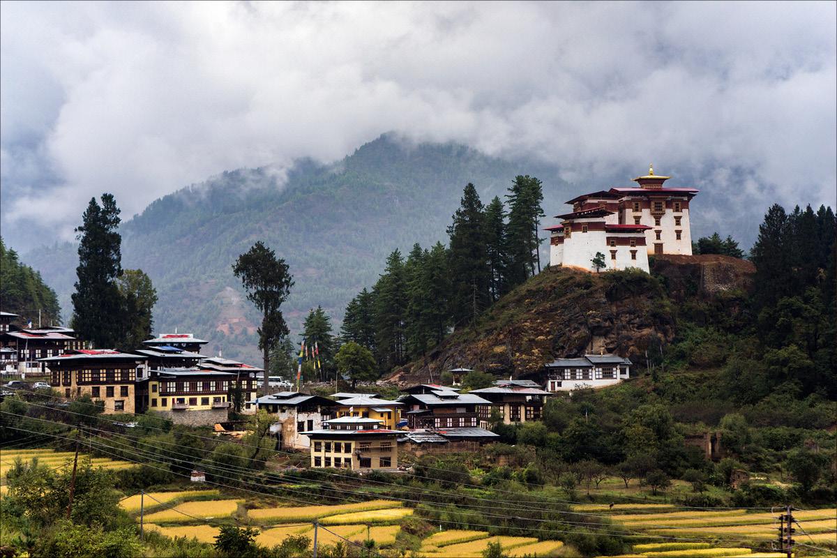 Drugyel Dzong Bhutan
