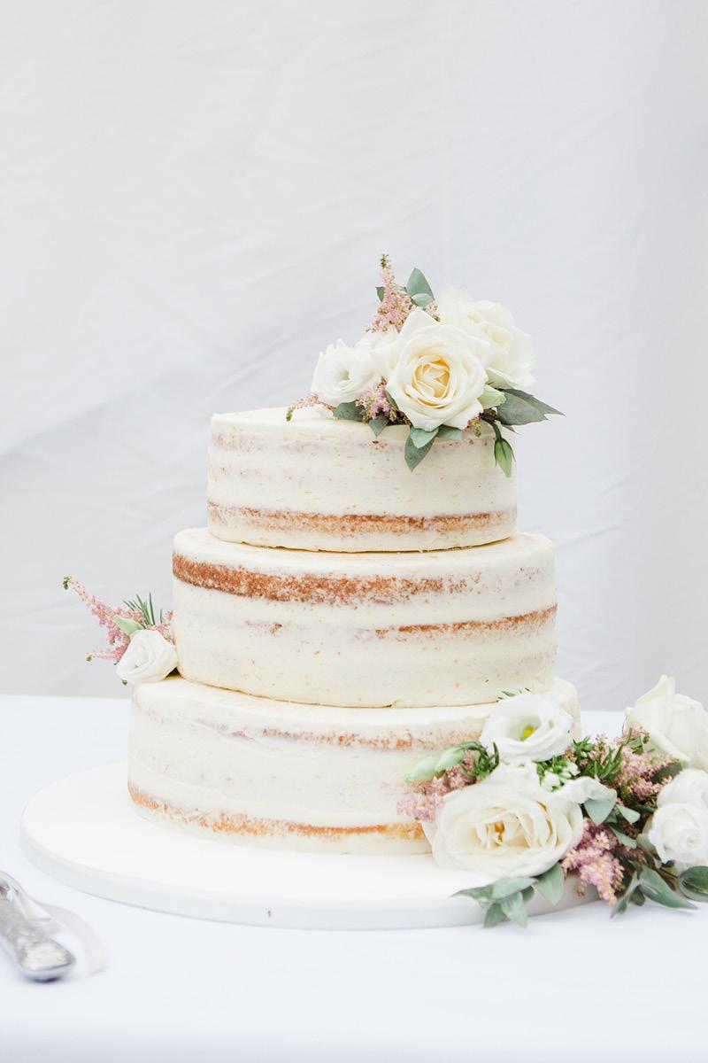 Georgie and Rob wedding cake
