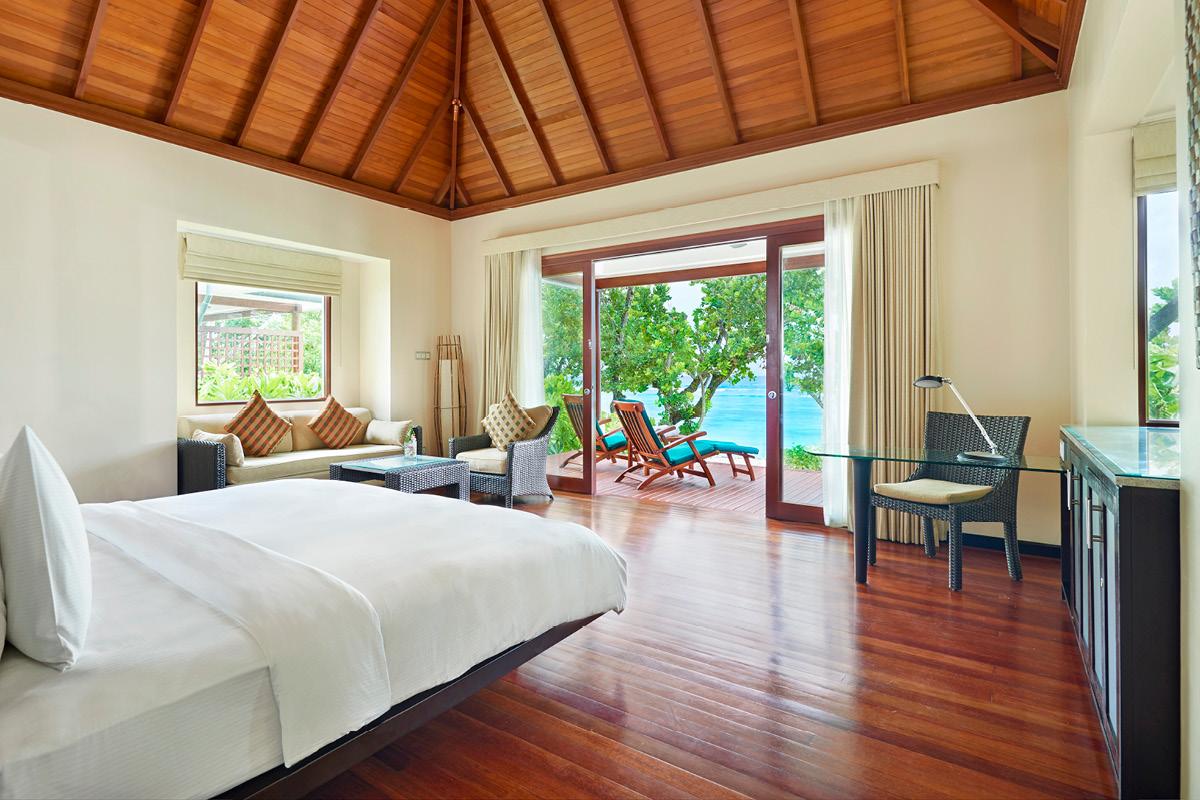 Hilton Seychelles Labriz Beachfront villa