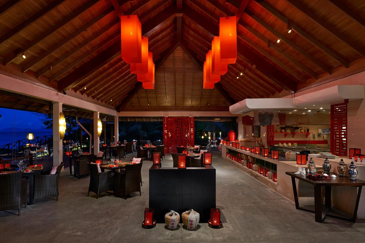 Hilton Seychelles Labriz Sakura restaurant