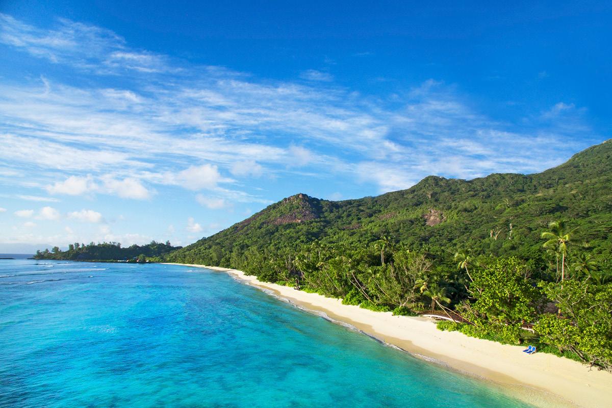Hilton Seychelles Labriz beach win honeymoon