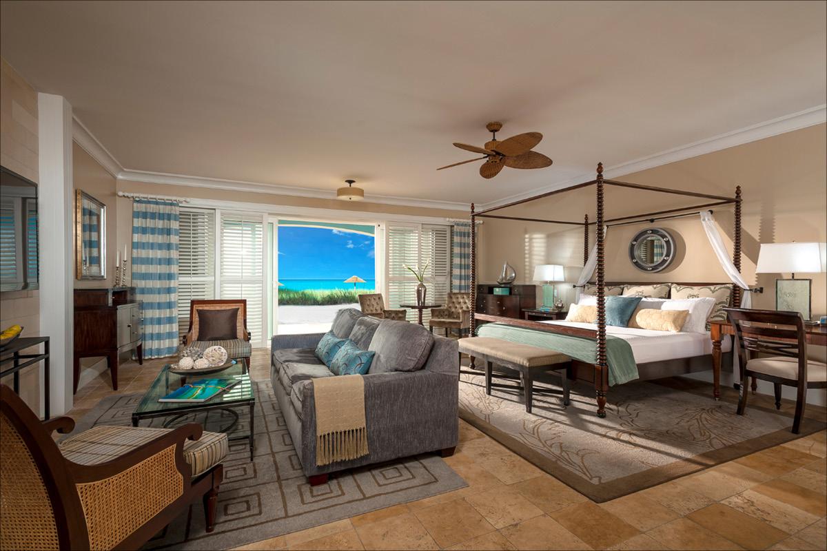 Sandals Emerald Bay Bahamas beachfront room