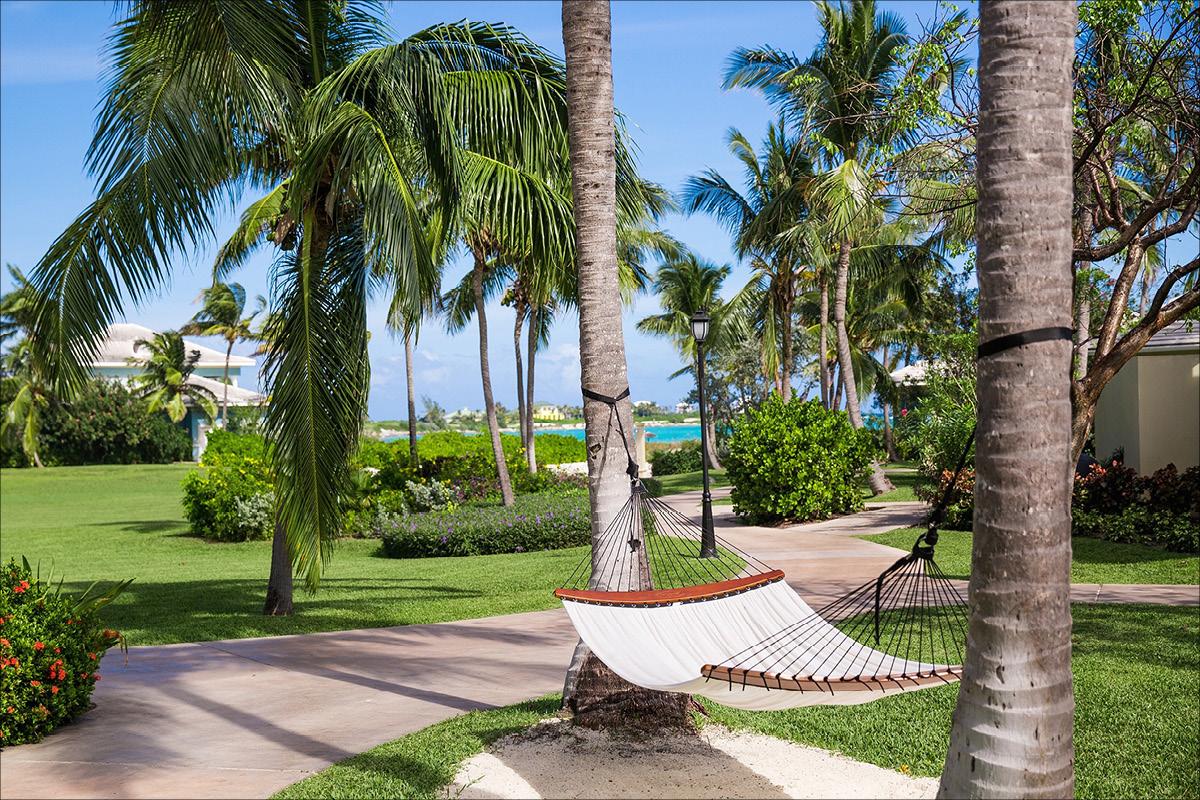 Sandals Emerald Bay Bahamas hammock