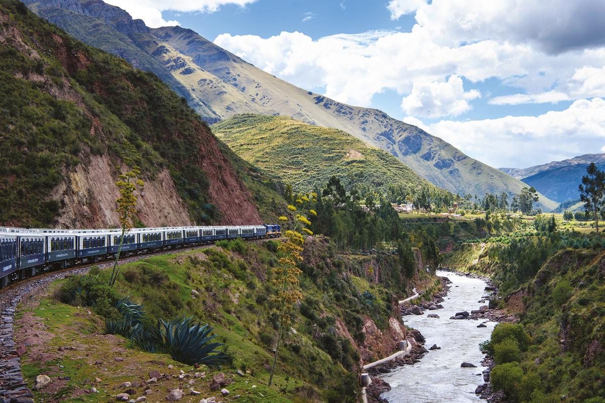 Belmond Andean Explorer Peru