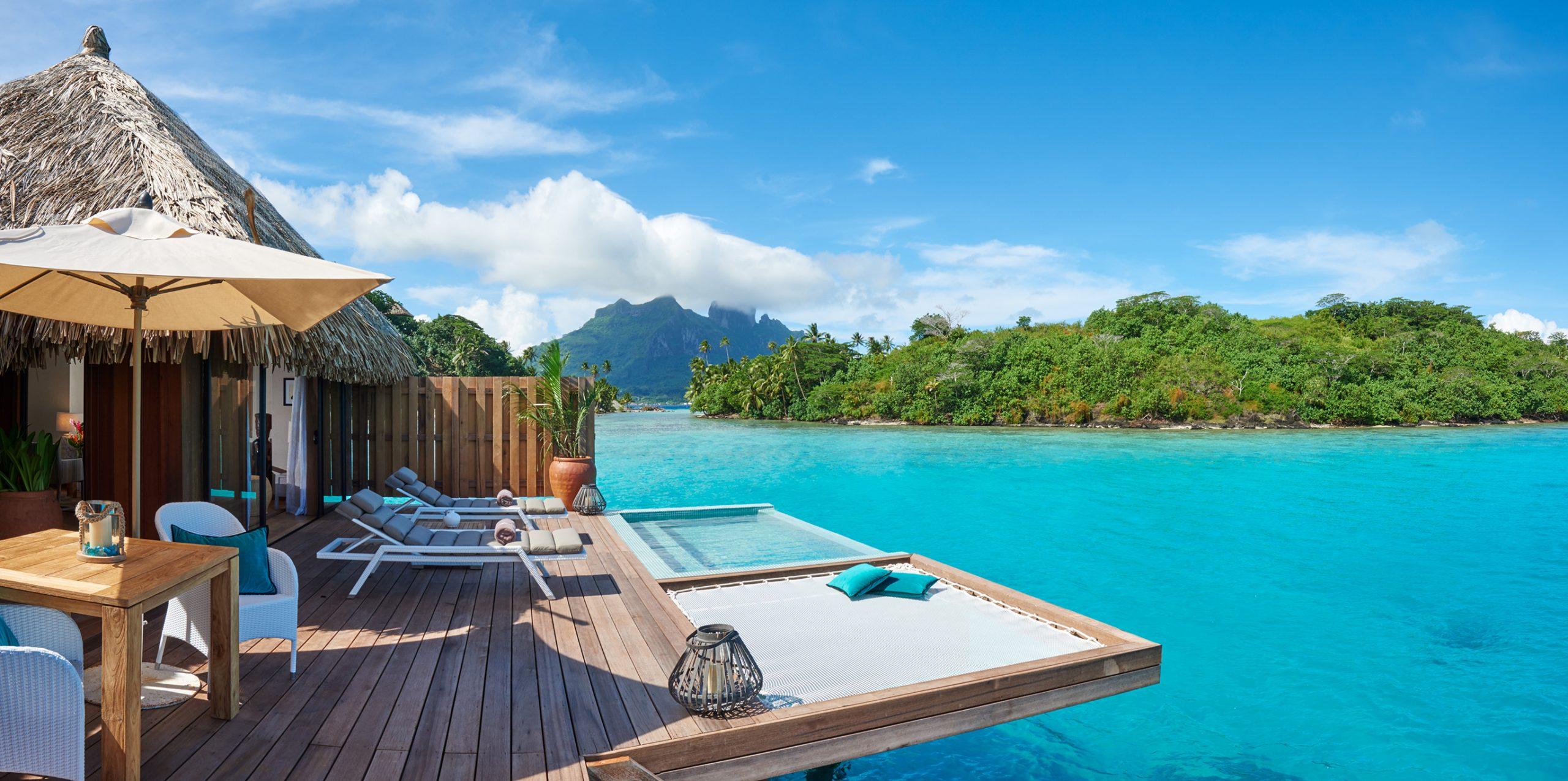 Royal Pool Overwater Villa Conrad Bora Bora Nui