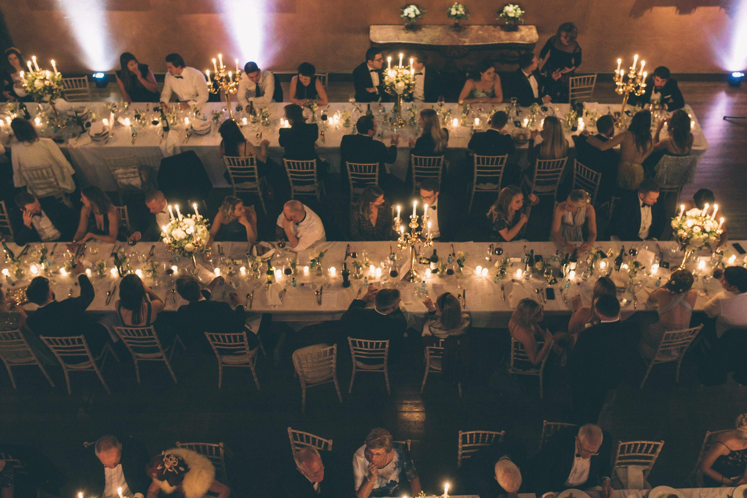 Cowdray House wedding breakfast
