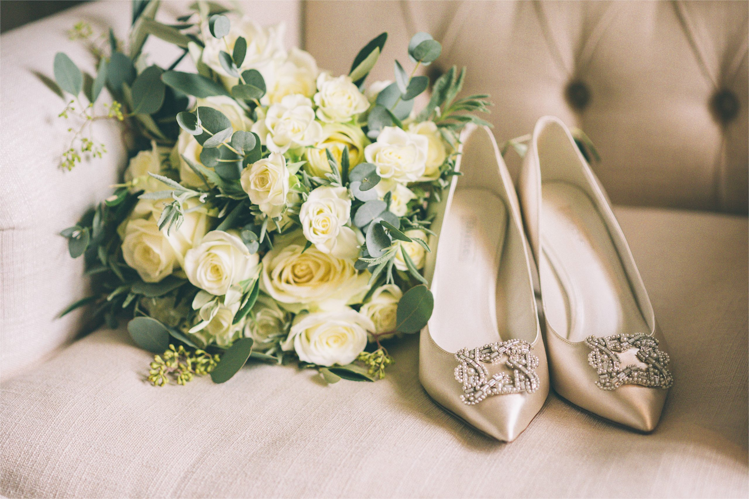 Cowdray House wedding shoes