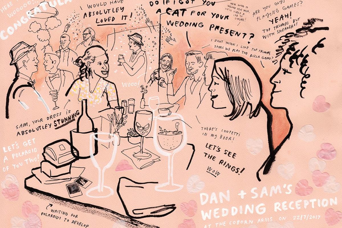 Draw my wedding