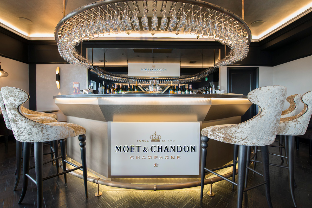 Hythe Imperial Hotel Moet and Chandon Champagne Bar