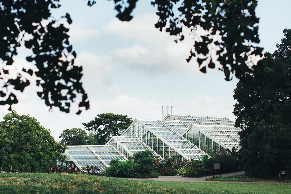 Kew Gardens exterior Hattie and Brendan