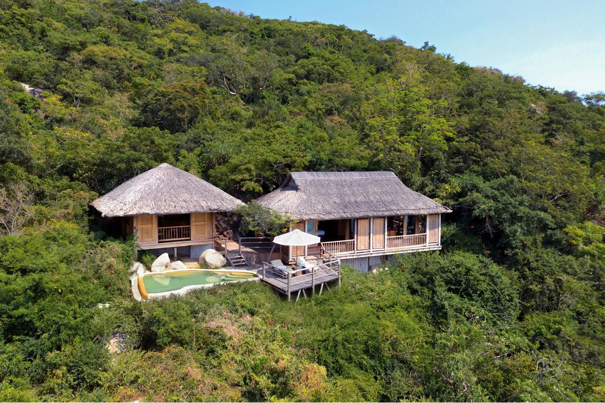 unusual honeymoons: Ninh Van Bay Hilltop Pool Vietnam