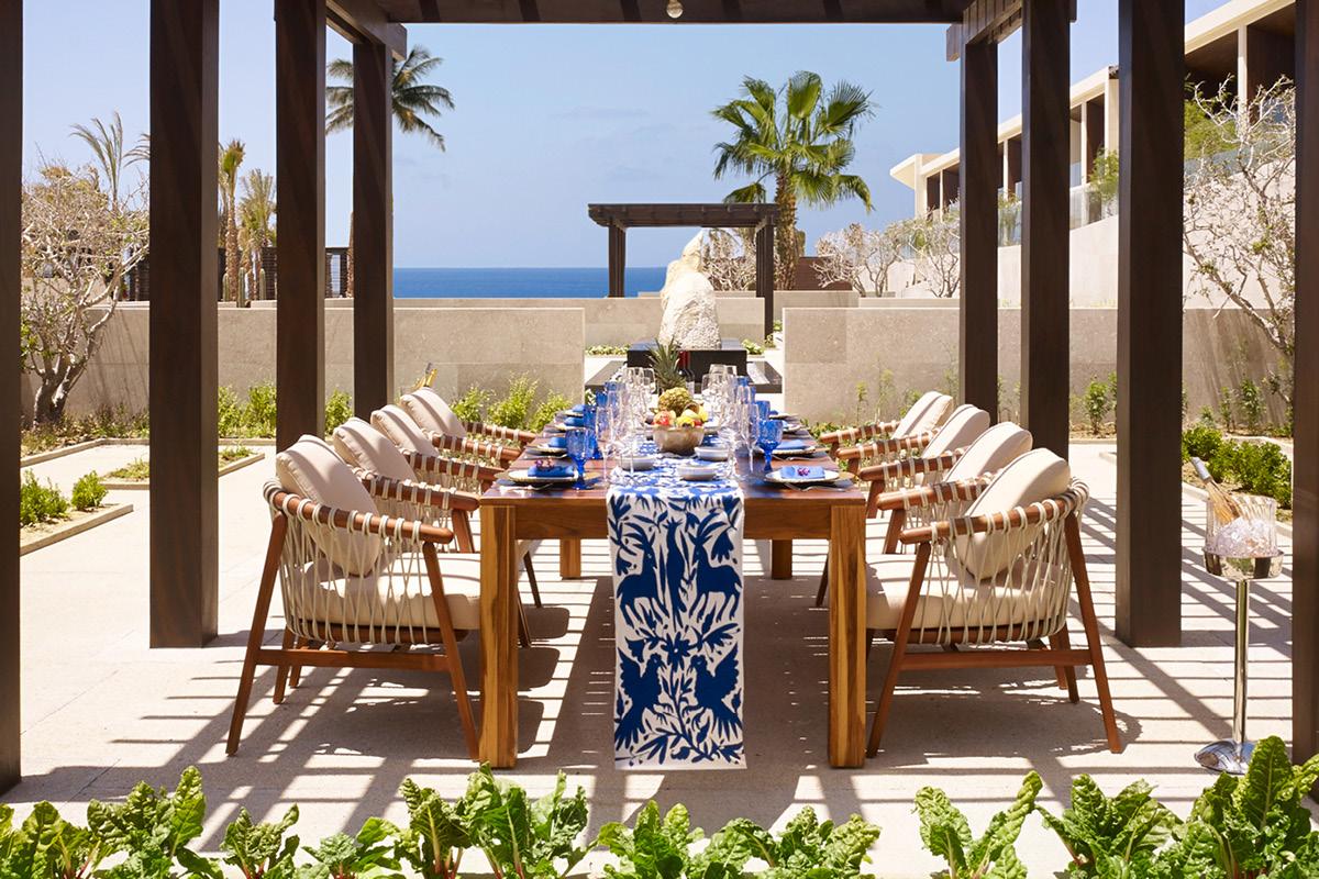 Nobu Hotel Los Cabos Chef's garden