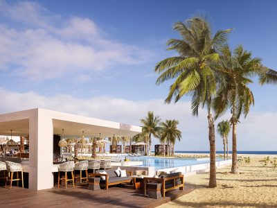 Nobu Hotel Los Cabos Cortez swim-up bar