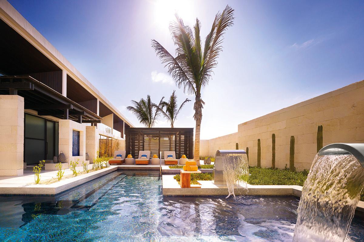 Nobu Hotel Los Cabos Essencia Wellness Hydrotherapy pool